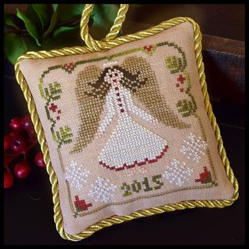 Little House Needleworks - The Sampler Tree - Part 12 - Christmas Angel-Little House Needleworks - The Sampler Tree, Christmas Angel