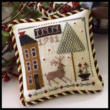 Little House Needleworks - The Sampler Tree - Part 5 of 12 - Deer Valley Inn