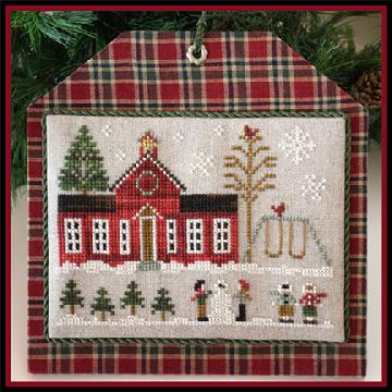 Little House Needleworks - Hometown Holiday - Part 11 - Schoolhouse