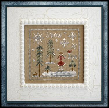 Little House Needleworks - Snow & Ice-Little House Needleworks - Snow  Ice, ice skating, girls, ice skates, winter, cross stitch