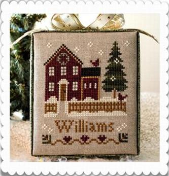 Little House Needleworks - Hometown Holiday - Part 1 - My House - Cross Stitch Pattern