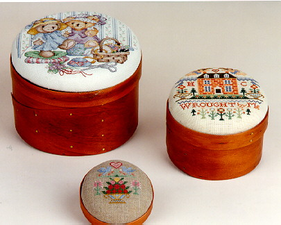 Sudberry House - Shaker Box - Shaker Pincushion Box