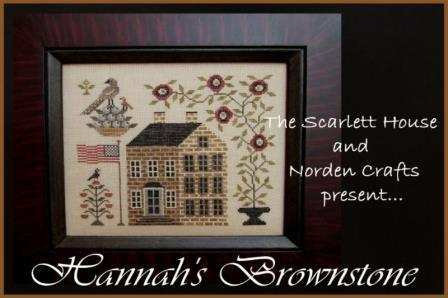The Scarlett House - Hannah's Brownstone - Cross Stitch Thread Pack