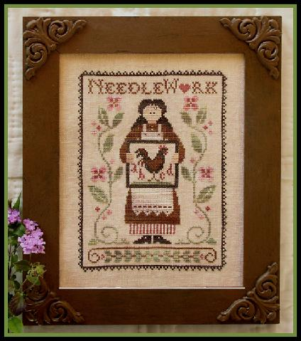 Little House Needleworks - My Needle's Work - Cross Stitch Pattern