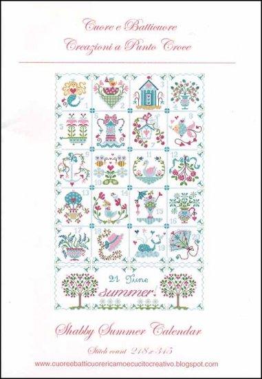 Cuore e Batticuore - Shabby Summer Calendar