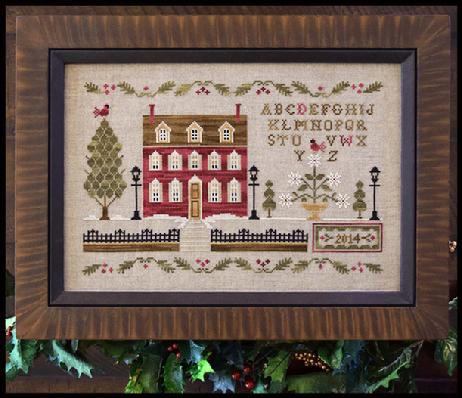 Little House Needleworks - Lantern Lane - Cross Stitch Pattern