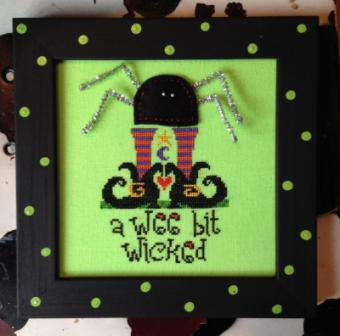 Amy Bruecken Designs - Wee Bit Wicked - Limited Edition Kit-Amy Bruecken Designs - Wee Bit Wicked - Limited Edition Kit, Halloween,
