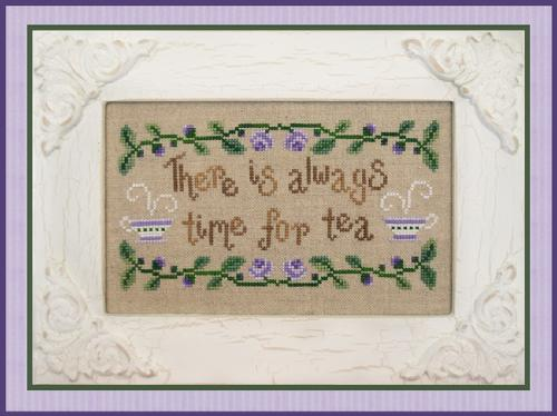 Country Cottage Needleworks - Time for Tea-Country Cottage Needleworks - Time for Tea, drink,