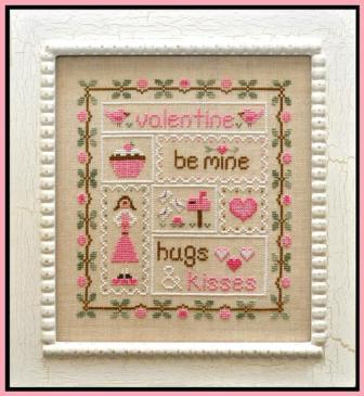 Country Cottage Needleworks - Be My Valentine - Cross Stitch Pattern
