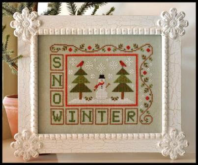 Country Cottage Needleworks - Winter Snow - Cross Stitch Pattern