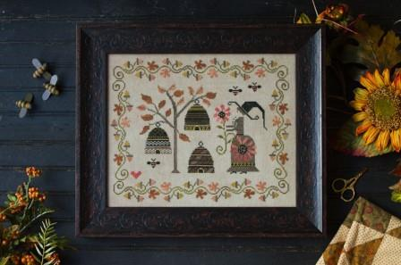 Plum Street Samplers - Harvest Keeper - Cross Stitch Pattern