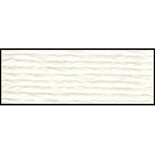 DMC - Pearl #5 Cotton Skein - 0001 White