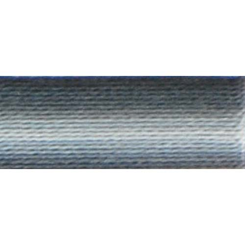 DMC - Pearl #5 Cotton Skein - 0053 Variegated Steel Gray