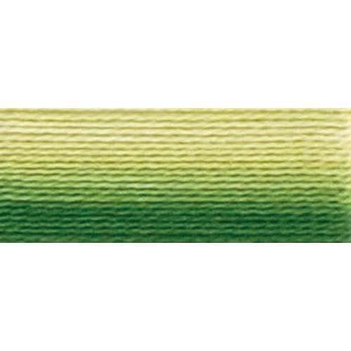 DMC - Pearl #5 Cotton Skein - 0092 Variegated Avocado