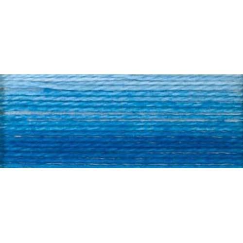 DMC - Pearl #5 Cotton Skein - 0093 Variegated Cornflower Blue