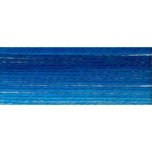 DMC - Pearl #5 Cotton Skein - 0121 Variegated Delft Blue