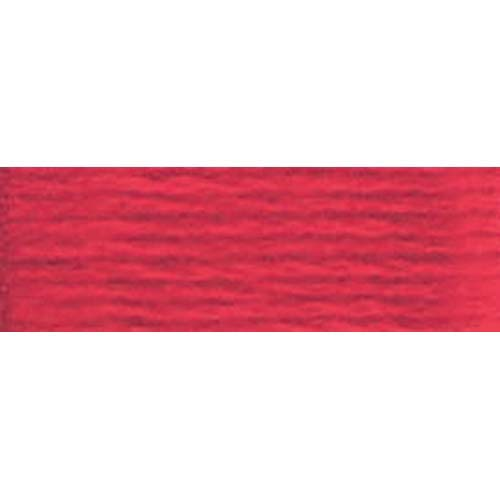 DMC - Pearl #5 Cotton Skein - 0304 Med. Red
