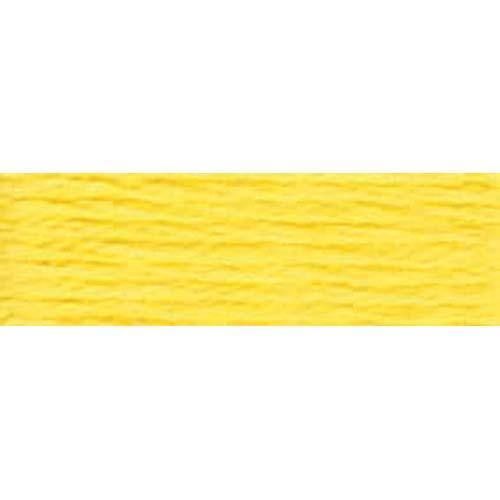 DMC - Pearl #5 Cotton Skein - 0307 Lemon