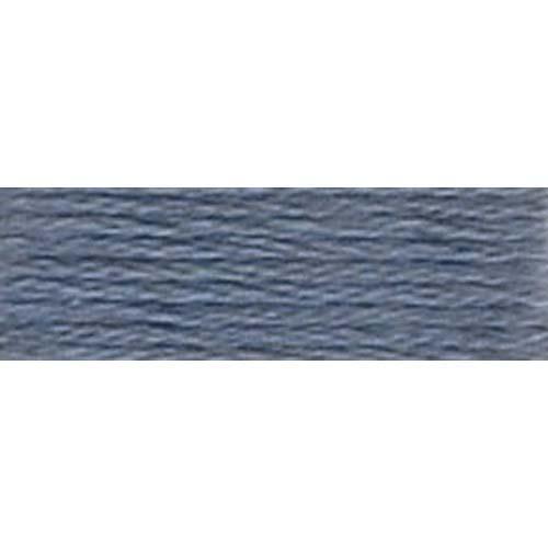 DMC - Pearl #5 Cotton Skein - 0317 Pewter Gray