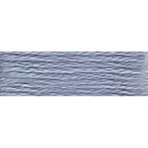 DMC - Pearl #5 Cotton Skein - 0318 Lt. Steel Gray