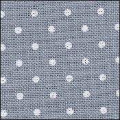 Zweigart - 32 ct Blue/White Belfast Petit Point Linen 9 x 13