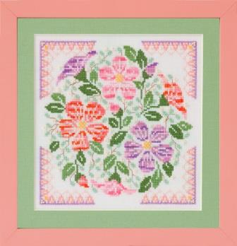 Glendon Place - Desert Rose-Glendon Place - Desert Rose, flowers, dry, cactus, cross stitch