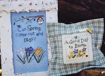 SamSarah Design Studio - Spring Play - Cross Stitch Pattern