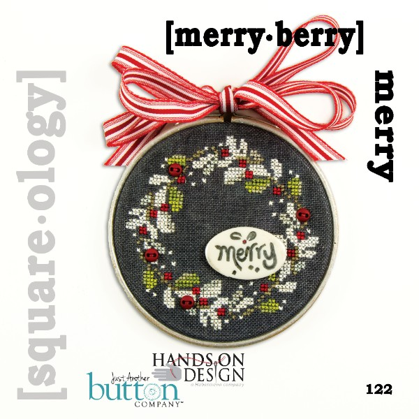 Hands On Design & Just Another Button Company - Square.ology - merry.berry