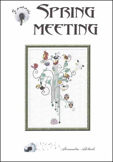 Alessandra Adelaide Needleworks - Spring Meeting - Cross Stitch Chart