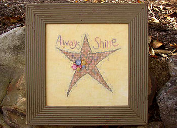 SamSarah Design Studio - Always Shine - Cross Stitch Pattern