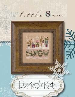 Lizzie Kate - A Little Snow - Cross Stitch Kit