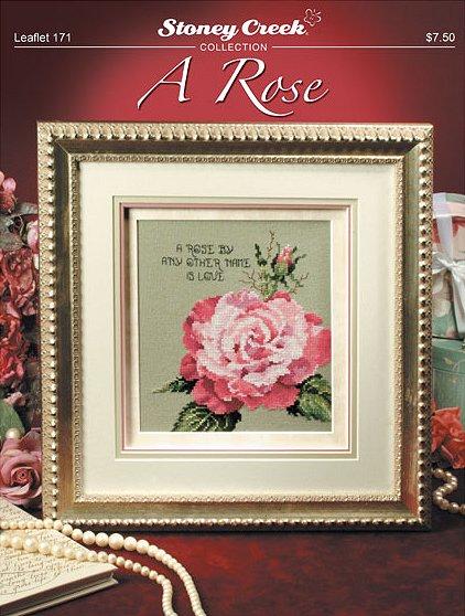 Stoney Creek - A Rose - Cross Stitch Chart