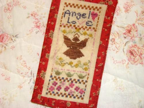 Country Garden Stitchery - Angel Love - Cross Stitch Pattern