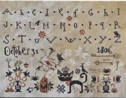 Barbara Ana Designs - October 31-Barbara Ana Designs - October 31, HALLOWEEN, Cross Stitch Chart