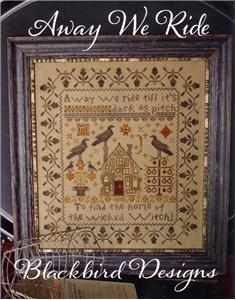 Blackbird Designs - Away We Ride - Cross Stitch Pattern