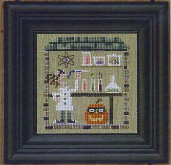 Bent Creek - The Haunted House - Secret Lair - Cross Stitch Pattern