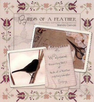 With Thy Needle & Thread - Mystery Sampler - Birds of a Feather Part 1