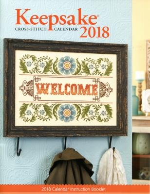 Cross Stitch & Needlework - Keepsake Calendar 2018