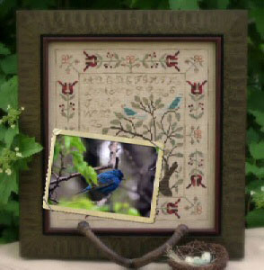 With Thy Needle & Thread - Mystery Sampler - Birds of a Feather Part 2