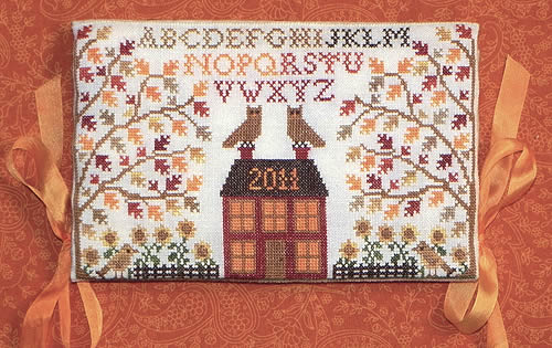 Blue Ribbon Designs - Harvest Huswif - Cross Stitch Patterns