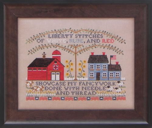 Blue Ribbon Designs - Liberty Stitchery - Cross Stitch Pattern