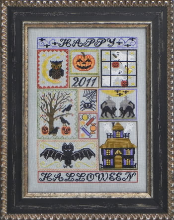 Blue Ribbon Designs - Moonlit Midnight Cross Stitch Pattern