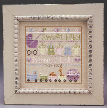 The Trilogy - Baby Line Up - Cross stitch Pattern