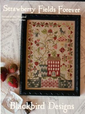 Blackbird Designs - Strawberry Fields Forever - Cross Stitch Pattern