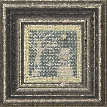 Bent Creek - Blue + White - Cross Stitch Pattern