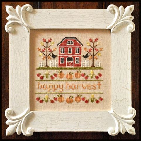 Country Cottage Needleworks - Happy Harvest - Cross Stitch Pattern