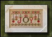 Country Cottage Needleworks - Ornamental Joy - Cross Stitch Pattern
