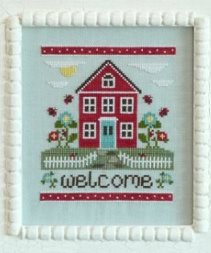 Country Cottage Needleworks - Welcome Home - Cross Stitch Pattern