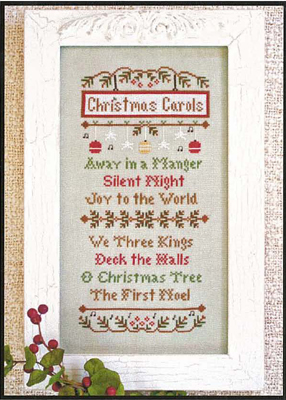 Country Cottage Needleworks - Christmas Carols - Cross Stitch Pattern