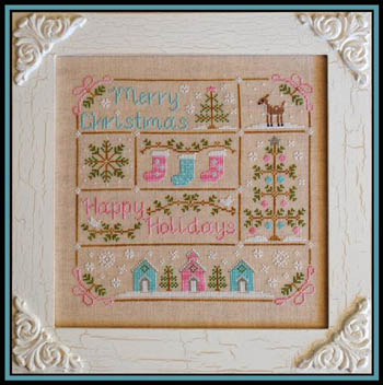 Country Cottage Needleworks - Vintage Christmas - Cross Stitch Pattern